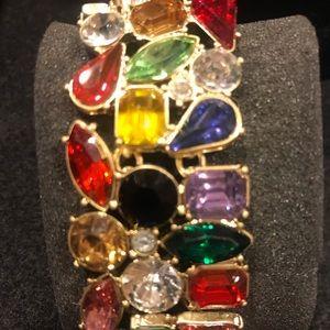Crystal multicolor bracelet